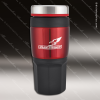 Engraved Stainless Steel 16 Oz. Travel Tumbler Drink Mug Red Laser Etched G Stainless 16 Oz. Travel Tumblers