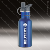 Engraved Stainless Steel 17 Oz. or 25 Oz. Water Bottle Blue Laser Etched Gi Stainless 17 Oz. or 25 Oz. Water Bottles