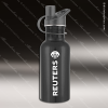 Engraved Stainless Steel 17 Oz. or 25 Oz. Water Bottle Black Laser Etched G Stainless 17 Oz. or 25 Oz. Water Bottles
