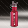 Engraved Stainless Steel 17 Oz. or 25 Oz. Water Bottle Red Laser Etched Gif Stainless 17 Oz. or 25 Oz. Water Bottles