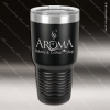 Engraved Stainless Steel 30 Oz. Ringneck Travel Mug Black Etched Gift Stainless 30 Oz. Ringneck Travel Mugs