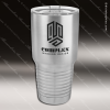 Engraved Stainless Steel 30 Oz. Ringneck Travel Mug Silver Etched Gift Stainless 30 Oz. Ringneck Travel Mugs