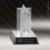 Acrylic  Clear Star Burst Column Award Star Acrylic Awards