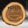 Engraved Rustic Wood Plaque Laser Etched Elm Wall Placard Award Walnut Finish Plaques