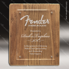 Engraved Rustic Wood Plaque Laser Etched Reclaimed Floating Acrylic Award Walnut Finish Plaques