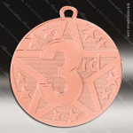 Medallion Superstar Series 3rd Place Medal 1st 2nd 3rd Place Medals