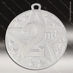 Medallion Superstar Series 2nd Place Medal 1st 2nd 3rd Place Medals