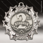 Medallion Ten Star Series 2nd Place Medal 1st 2nd 3rd Place Medals