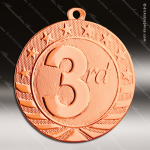 Medallion Starbrite Series 3rd Place Bronze Medal 1st 2nd 3rd Place Medals