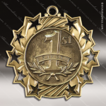 Medallion Ten Star Series 1st Place Medal 1st 2nd 3rd Place Medals