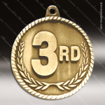 Medallion High Relief Series 3rd Place Medal 1st 2nd 3rd Place Medals