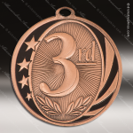 Medallion MidNite Series 3rd Place Medal 1st 2nd 3rd Place Medals