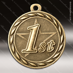 Medallion Sculpted Series 1st Place Medal 1st 2nd 3rd Place Medals