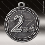 Medallion Sculpted Series 2nd Place Medal 1st 2nd 3rd Place Medals