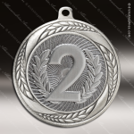 Medallion Laurel Wreath Series 2nd Place Medal 1st 2nd 3rd Place Medals