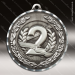 Medallion Diamond Edge Series 2nd Place Medal 1st 2nd 3rd Place Medals