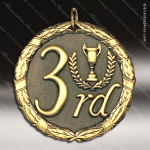 Medallion XR Series 3rd Place Medal Bronze 1st 2nd 3rd Place Medals