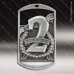 Medallion Dog Tag Series 2nd Place 1st 2nd 3rd Place Medals
