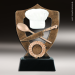 Resin Academy Shield Series Cooking Trophy Award Academy Shield Resin Trophy Awards