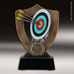 Resin Academy Shield Series Archery Trophy Award Academy Shield Resin Trophy Awards