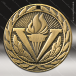 Medallion Iron Series Achievement Victory Torch Medal Achievement Medals