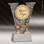 Kids Resin V Victory Series Insert Your Logo or Mylar Holder Trophies Awa Achievement Trophy Awards