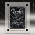Engraved Acrylic Plaque Black Marble Recognition Wall Placard Award Acrylic Plaque Awards