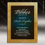 Engraved Acrylic Plaque Blue Gold Chroma Award Acrylic Plaque Awards