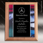 Engraved Alder Plaque Acrylic Red Green Blue Art Border Black Plate Wall P Acrylic Plaque Awards