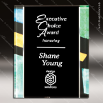 Engraved Acrylic Plaque Blue Artistic Multicolored Award Acrylic Plaque Awards