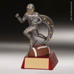 Resin Action Star Series Football Trophy Award Action Star Resin Trophy Awards