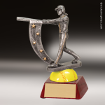 Resin Action Star Series Softball Trophy Award Action Star Resin Trophy Awards