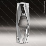 Crystal  Diamond Tower Trophy Award All Clear Crystal Awards