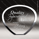 Crystal  Shell Plaque Trophy Award All Clear Crystal Awards