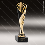 Cup Trophy Economy Gold Cone Black Accented Modern Cup Award All Cup Trophy Awards