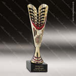 Cup Trophy Economy Gold Cone Red Accented Modern Cup Award All Cup Trophy Awards