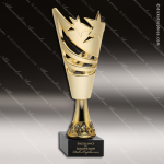 Cup Trophy Economy Gold Cone Star Accented Modern Cup Award All Cup Trophy Awards
