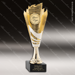 Cup Trophy Economy Gold Cone Silver Accented 2 Your Logo Holder Modern Cup All Cup Trophy Awards