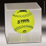 Display Case Acrylic Clear for Softball All Display Cases