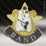 Lapel Pin - Band Academic Metal Chenille Letter Insignia All Lapel Chenille Pins