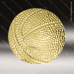 Lapel Pin - Basketball Metal Chenille Letter Insignia All Lapel Chenille Pins