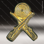 Lapel Pin - Crossed Rifle Chenille Pin All Lapel Chenille Pins