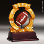 Resin Ball Spinner Series Football Trophy Award Ball Spinner Resin Trophy Awards