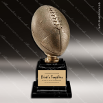 Premium Resin Large Gold Full Size Football Trophy Award Ball Trophy Awards