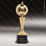 Champion Large Gold Spinning Soccer Ball Trophy Award Ball Trophy Awards