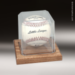 Clear Acrylic Baseball Display Case Baseball Display Case