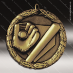 Medallion XR Series Baseball Medal Bat and Glove Baseball Medals