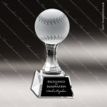 Crystal  Sport Baseball Trophy Award Baseball Trophies