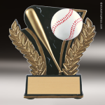 Resin Midnight Wreath Series Baseball Trophy Award Baseball Trophies