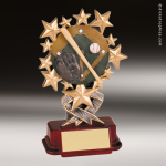 Resin Starburst Series Baseball Trophy Award Baseball Trophies